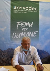 Georges Gianni,  nouveau président du SYVADEC
