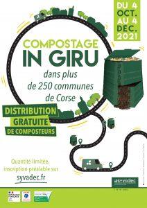 Affiche de l'opération compostage in giru