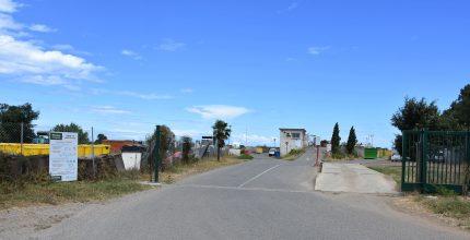 Vue de la recyclerie de Lucciana